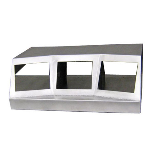 Shelf-Mount Stainless Steel Console