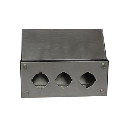 Custom Steel Box. Stainless ...  sc 1 st  Heritage Manufacturing - Custom Stainless Steel and Painted Steel ... & Custom Junction Boxes | Heritage Manufacturing - Custom Stainless ... Aboutintivar.Com