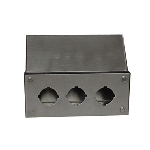 Stainless Steel Box with bolt-on lid
