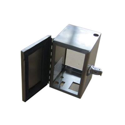 Hinge & hasp stainless steel box