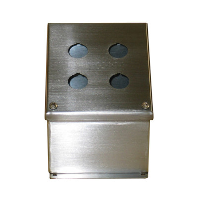 Stainless Steel Box w/bolt-on lid