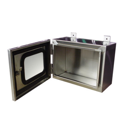 Stainless Steel Electrical Enclosure - Single Door