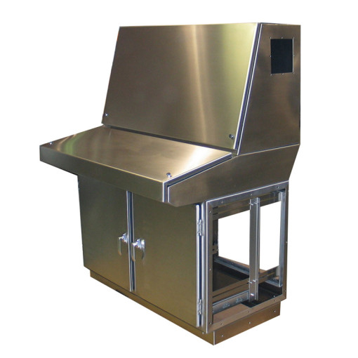 Stand-Alone Stainless Steel Console