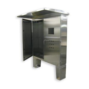 Custom Double Door Cabinet with Sunscreen