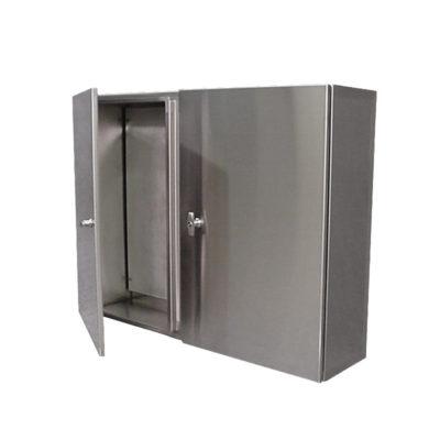 Stainless Steel Control Cabinet - Wall Mount Double Door