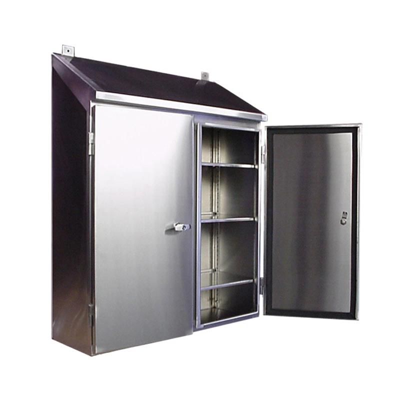 stainless steel electrical enclosure door w