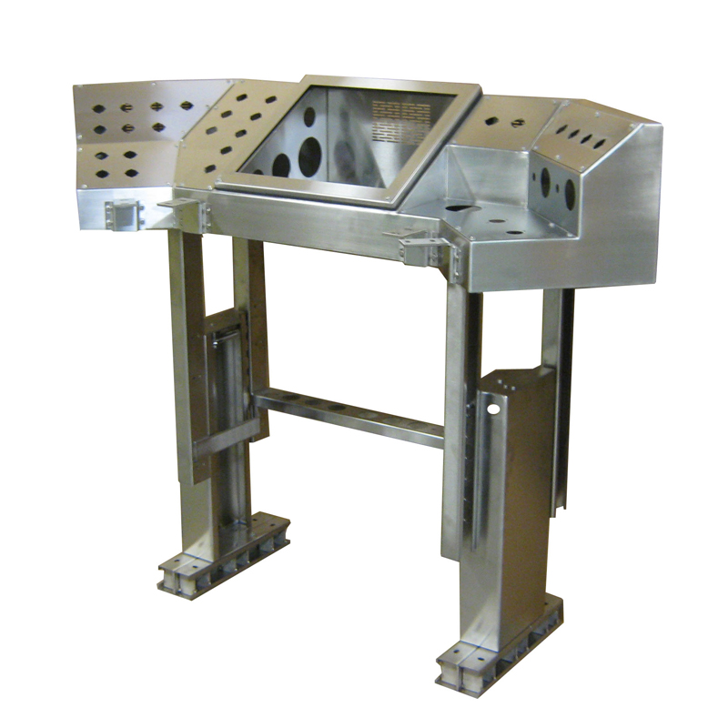 Custom Stainless Steel Control Console