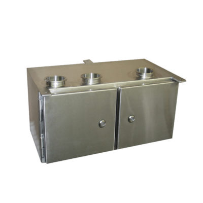 Stainless Steel Electrical Enclosure - Double Door