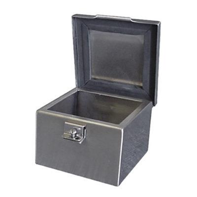 Stainless Steel Junction Box - Hinge & Hasp