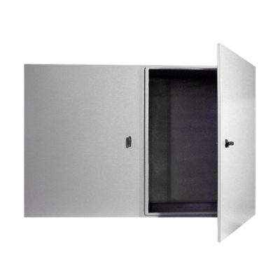 Painted Steel Cabinet - Wall Mount Double Door