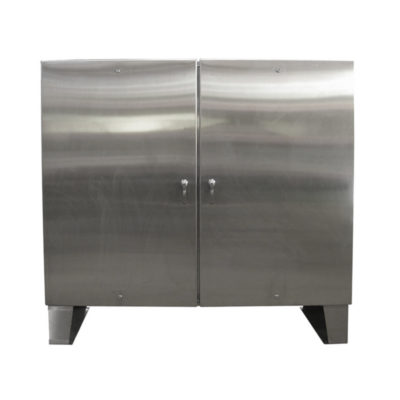 Stainless Steel Cabinet - Floor Mount Double Door