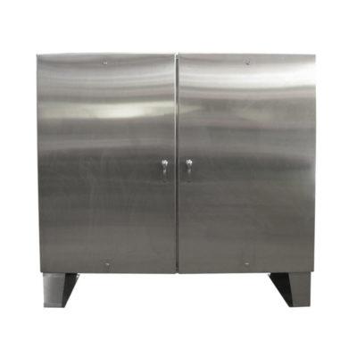 Stainless Steel Cabinet - Floor Mount Double Door