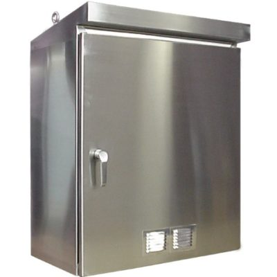 Stainless steel enclosures heritage manufacturing for Custom stainless steel cabinet doors